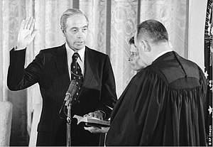 William Scranton - Scranton swearing-in as US Rep to the UN