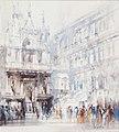William Walcot - Doge's Palace courtyard, Chapel and Scala dei Giganti - 8943.jpg