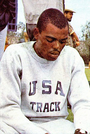 Willie Davenport - Willie Davenport at the 1968 Olympics