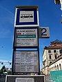 Wilsonova, hlavní nádraží, autobusová zastávka před budovou, stání 2.jpg