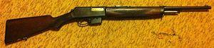 Winchester Model 1910 - Image: Winchester .401 SL Model 1910