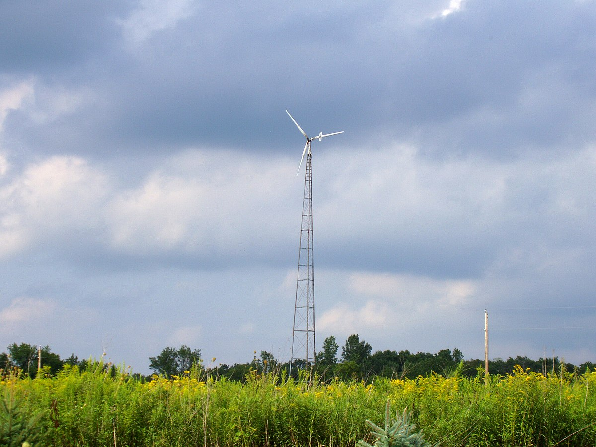 Small Wind Turbine Wikipedia