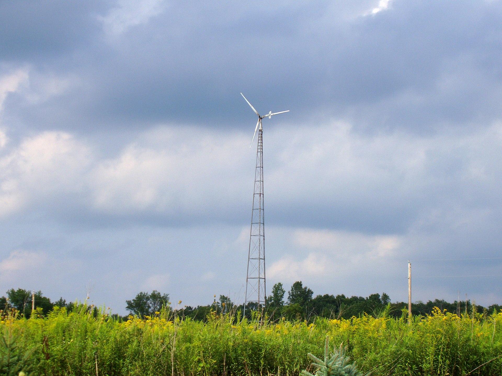 Small Wind Turbine Wikipedia