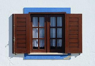 Window transparent or translucent opening