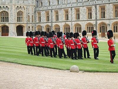 Windsor Guard Change Coldstream Guards