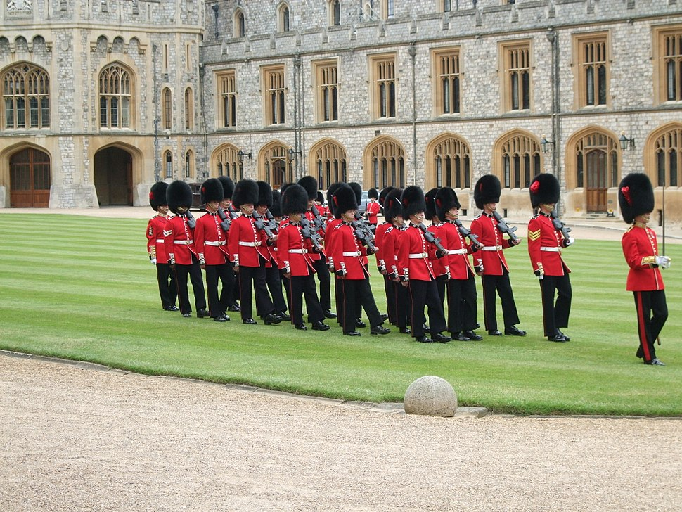 Windsor Guard Change Coldstream Guards