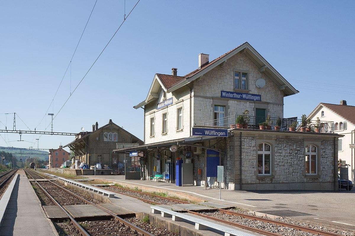 Winterthur Wülflingen railway station - Wikipedia