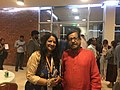 With Culture Minister of Bangladesh.jpg