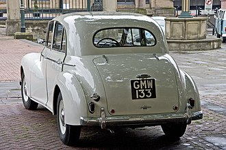 Wolseley 4/50 - Image: Wolseley 6 80 rear