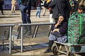 Women on the Arba'een Walk-Mehran city-Iran زنان در پیاده روی اربعین در مرز مهران- عکاسی خبری 48.jpg