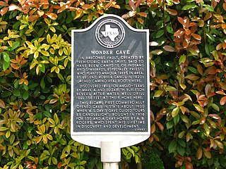 Wonder Cave (San Marcos, Texas) cave in United States of America