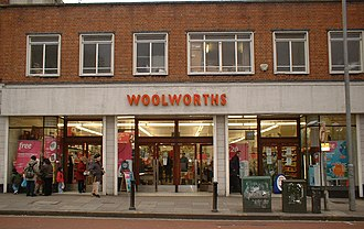 Woolworths Group - A Woolworths store façade in 2004
