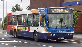 Stagecoach Yorkshire - Wright Endurance bodied Volvo B10B in Barnsley in 2007