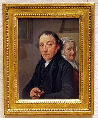Portrait of the painter Warnaar Horstink