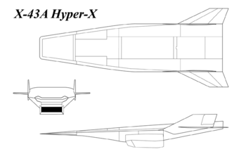X-43A 3-view drawing.png