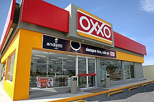 OXXO - Image: XC2V1522 FACHADA OXXO CERCA andatti