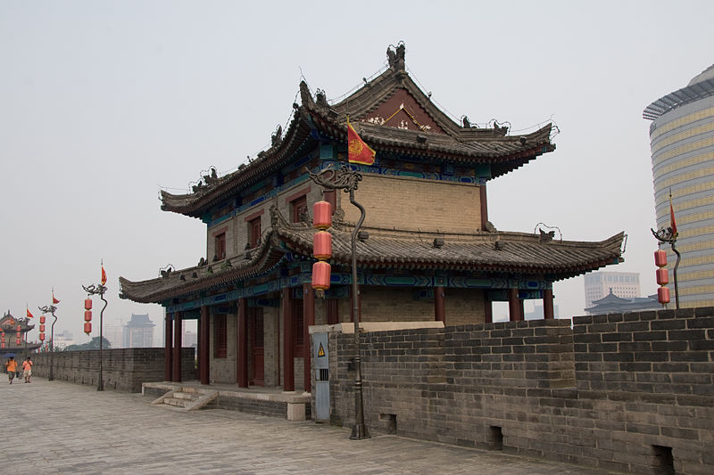 File:Xi'an - City wall - 004.jpg