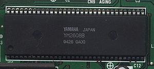 Yamaha YM2608 - Yamaha YM2608