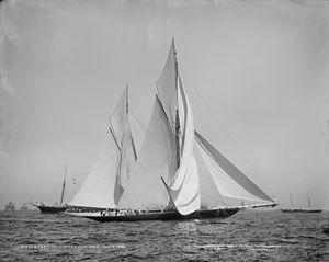 Vigilant (yacht) - Valkyrie II and Vigilant