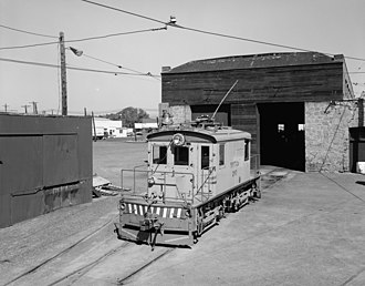 Yakima Valley Transportation Company - Image: Yakima Valley Transportation Company boxcab electric locomotive 297 2