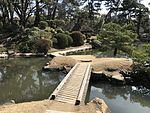 Yoryukyo Bridge and Soraikyo Bridge in Shukkei Garden.jpg