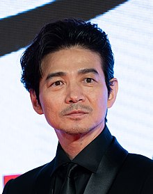 "Yoshioka Hidetaka from ""Tora-san, Wish You Were Here"" at Opening Ceremony of the Tokyo International Film Festival 2019 (49013472433) (cropped).jpg"