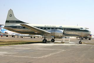 2018 Pretoria Convair 340 crash