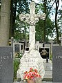 Zabytkowe groby na cmentarzu w Jazgarzewie k. Piaseczna (14).jpg