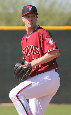 Zack Greinke - Greinke with the Arizona Diamondbacks