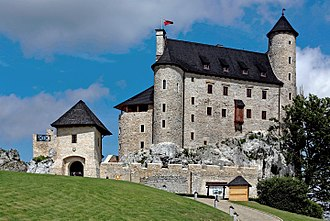 Bobolice Castle - Image: Zamek Bobolice 2013
