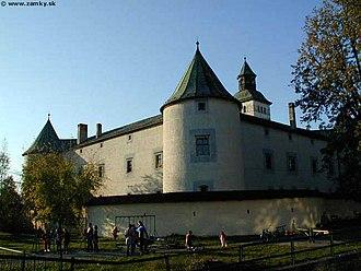 Upper Váh region -  Bytča castle