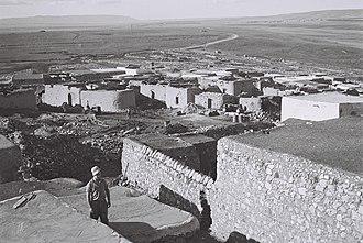 Zir'in - Zir'in, after occupation, on 30 January 1949