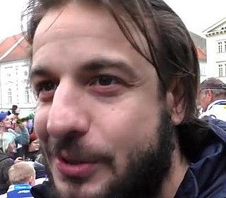 Martin Zaťovič Czech ice hockey player