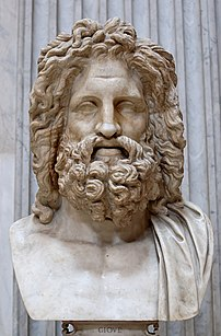 "So-called ""Zeus of Otricoli"". Marble, Roman co..."