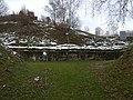 Zidurile cetatii Costesti iarna.jpg