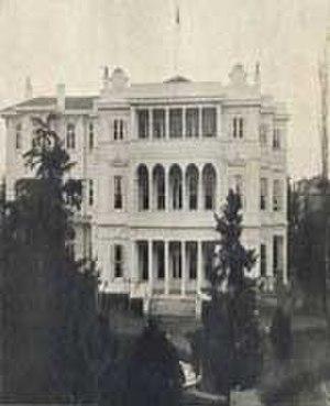 Mustafa Zihni Pasha - Mustafa Zihni Pasha's house in Constantinople