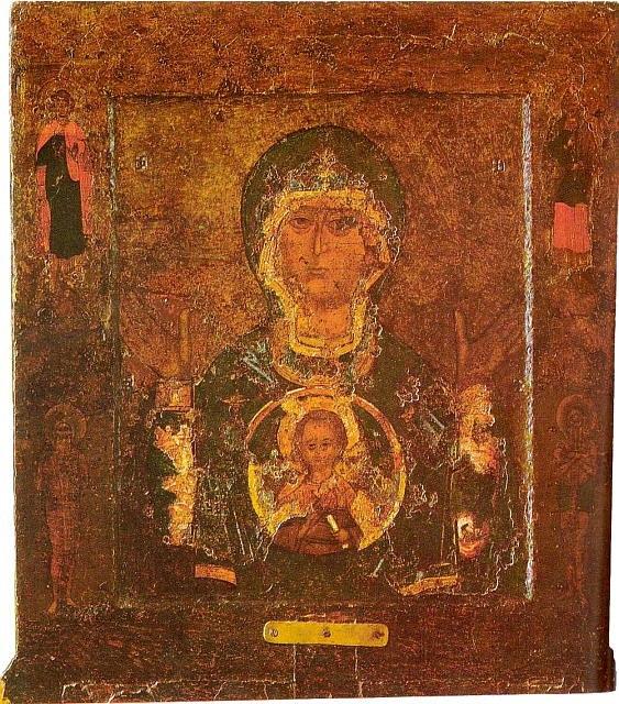 Znamenie ikona Novgorod