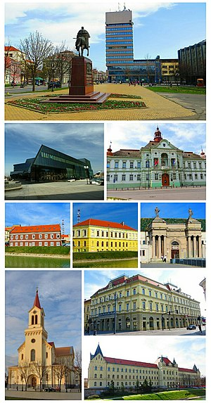 Zrenjanin photo montage