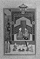 """Bahram Gur in the Green Palace on Monday"", Folio from a Khamsa (Quintet) of Nizami MET 43914.jpg"