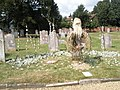 """Old man"" in the churchyard at St Andrew, Hamble - geograph.org.uk - 1463422.jpg"