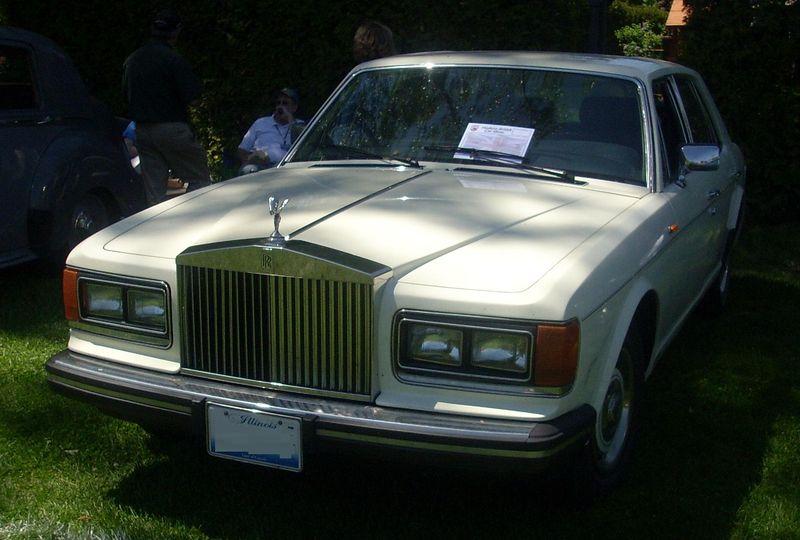 Rolls Roays Silver sprint