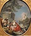 'Rest of the Shepherds' by Jean-Baptiste Deshays de Colleville, 18th century, Norton Simon Museum.JPG