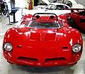 ' 66 - ITALY - Bizzarrini P538 Rossa fiammante con rollbar nero - red coupes exotic front barchetta - lamborghini italian engine.jpg