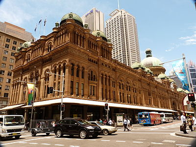 The Queen Victoria Building (the QVB) is an excellent example of British colonial influence on Australian architecture