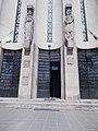 Árpádházi-szentek szobra, Szentlélek-plébániatemplom, 2017 Remetekertváros.jpg