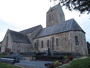 Église Saint-Martin de Lestre.