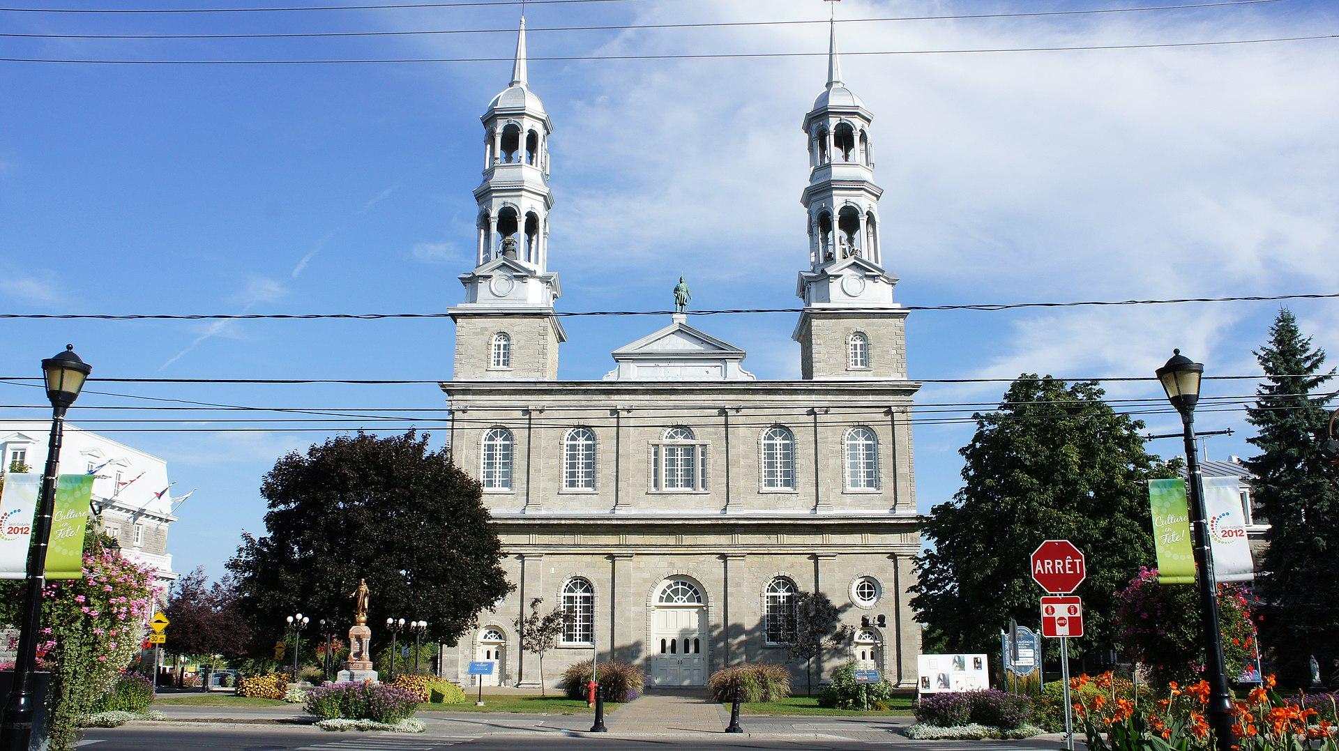 Eglise Canada Ville De Saint Jerome