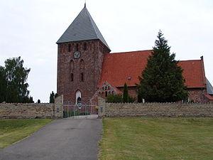 Nørreballe - Østofte Church in Nørreballe