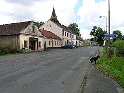 Červené Janovice, основная street.jpg