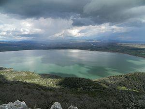 Ozeros - View of Ozeros lake